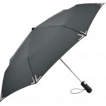 AOC-Mini-Taschenschirm Safebrella® LED - grau