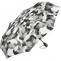 AOC-Mini-Taschenschirm FARE®-Camouflage - grau-kombi