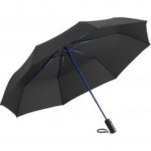Oversize Taschenschirm FARE®-AOC Colorline - schwarz-euroblau