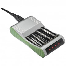 Batterieaufladegerät - grau