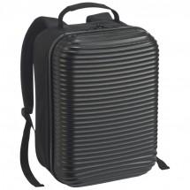 Laptop-Rucksack mit Hartschale - schwarz