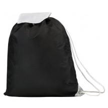 Promotasche mit Umschlagklappe - schwarz