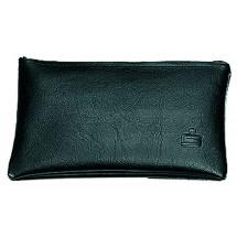 thanxx® Banktasche Bank 2 (S) schwarz - schwarz