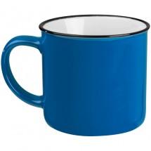 Keramiktasse, Füllvermögen 350ml - blau