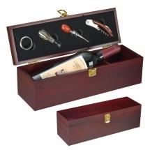 Weinbox für 1 Flasche - braun