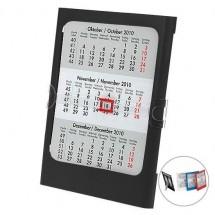 Tisch- und Wandkalender, 4-sprachig - schwarz