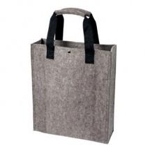 Polyesterfilz Shopper - anthrazit