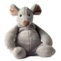 Plüsch Maus Mirja - grau