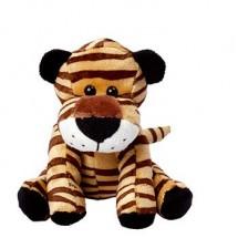 Zootier Tiger David - hellbraun