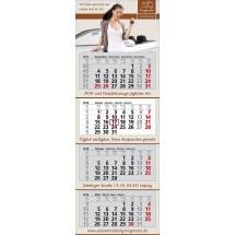 Wandkalender Premium 4-schwarz