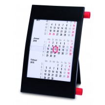 Tischkalender Vision für 2 Jahre, deutsch - schwarz