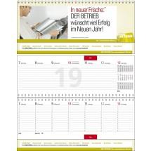 """Tischquerkalender """"Business-Exclusiv 1""""-schwarz /880_ rot"""