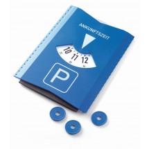 Parkscheiben-Eiskratzer, mit EK-Chip-blau /880_ weiß
