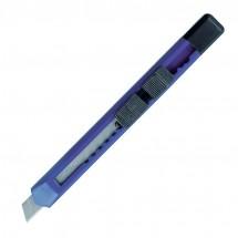 Schlankes Kartonmesser - blau
