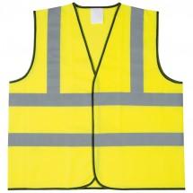 Sicherheitsweste für Erwachsene - gelb