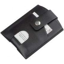 RFID Kartenetui - schwarz
