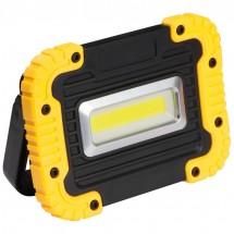 COB-Baulampe - gelb