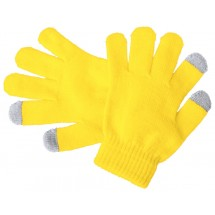 """Handschuhe für Touchscreen """"Pigun"""" - gelb"""