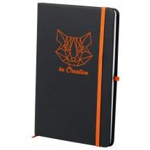 "Notizbuch ""Kefron"" - orange"