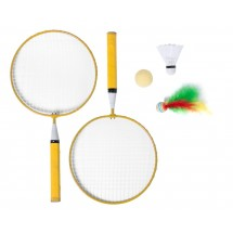 "Badmintonset ""Dylam"" - gelb"