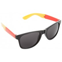 """Sonnenbrille """"Mundo"""" - schwarz/rot/gelb"""