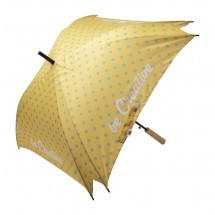 individueller Regenschirm CreaRain Square RPET