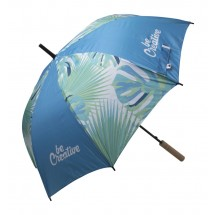 individueller Regenschirm CreaRain Eight RPET