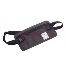 Gürteltasche mit 2 Reißverschlussfächern BUSINESS BELT BAG - anthrazit, schwarz