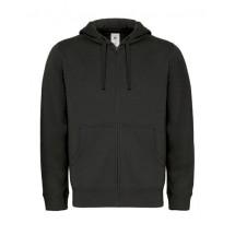 Hooded Full Zip Sweat / Men - Black