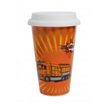 SND Porzellanbecher Coffee2Go, doppelwandig