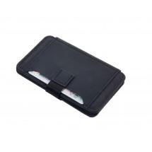 Kreditkartenetui mit Ausleseschutz 2-STRAP - rot, schwarz