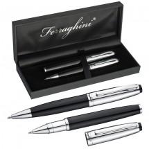 Ferraghini Schreibset - schwarz