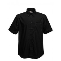 Men´s Short Sleeve Oxford Shirt - Black