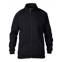 Premium Cotton Fleece Jacket - Black