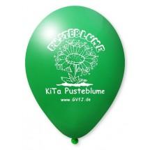 Luftballons mit Quality Print-Dunkelgrün