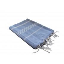 Haman-Handtuch blau
