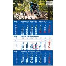 3-Monatsplaner Hit, blau