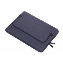 Portfoliotasche mit Reißverschluss MON CARRY - schwarz