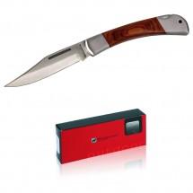 Schwarzwolf outdoor® JAGUAR 12,5cm Taschenmesser mit Holzgriff