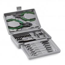 Werkzeugkoffer, 25-teilig GUILLAUME - silber