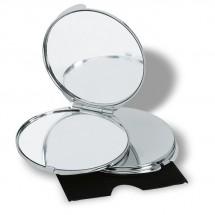 Make-up Spiegel GUAPAS - silber glänzend