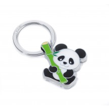 Schlüsselanhänger BAMBOO PANDA - mehrfarbig