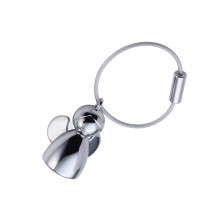 Schlüsselanhänger ANGELINA  - silber