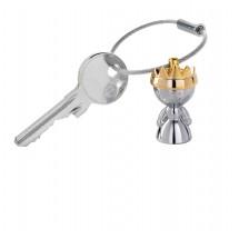 Schlüsselanhänger LITTLE QUEEN - gold, silber