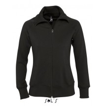 Women´s Zipped Jacket Soda - Black