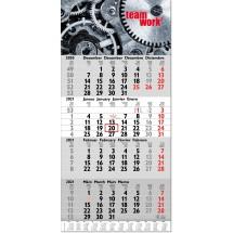 4-Monatsplaner Tetra, mit Jahresübersicht