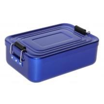 Vesperdose Alu, blau
