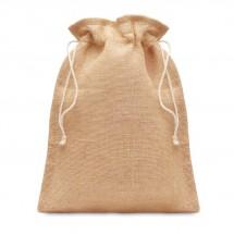 Kleine Jute Tasche 14x22 cm JUTE SMALL - beige