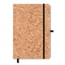 DIN A5 Notizbuch mit Kork SUBER - schwarz