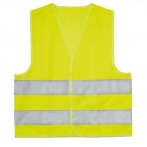 Sicherheitsweste Kinder MINI VISIBLE - gelb